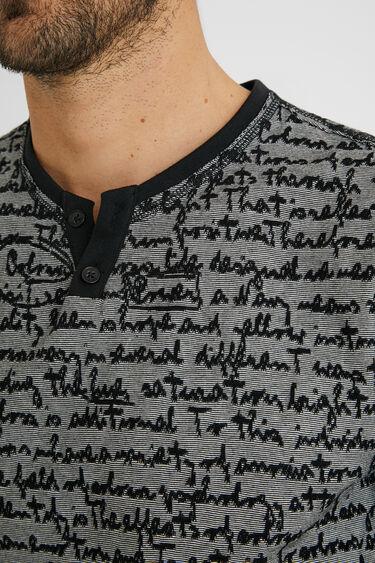 Jacquard T-shirt lettering | Desigual