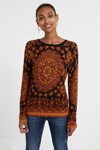 Boho knit jumper