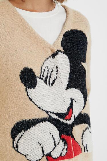 Mickey Mouse knit jacket | Desigual