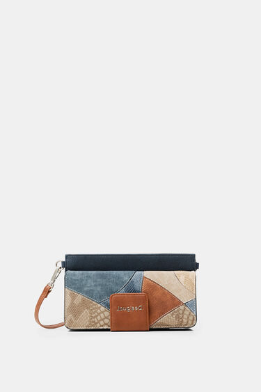 Rectangular wallet with handle | Desigual
