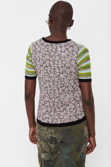 Pull patchwork africain | Desigual