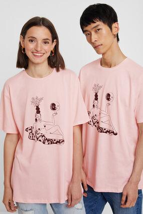 Biologisch T-shirt van Miranda Makaroff