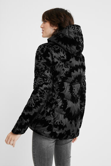 Reversible padded jacket | Desigual