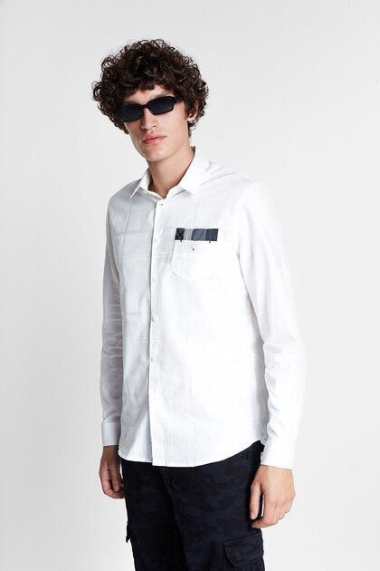 100% cotton basic shirt