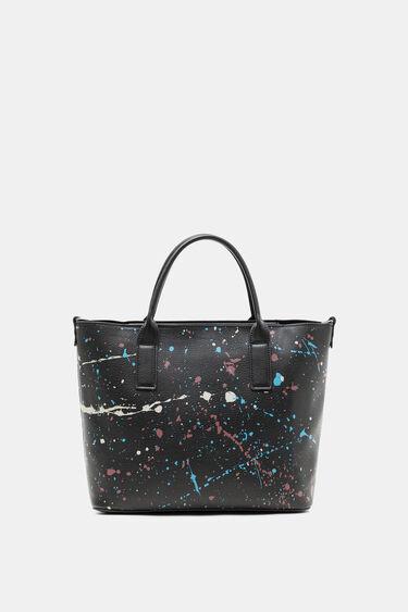 カラフルペイント柄 ハンドバッグ | Desigual