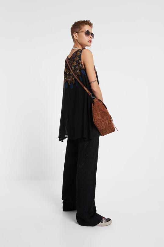 Asymmetric boho blouse | Desigual