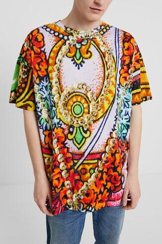 T-shirt unisexe à motifs hindous