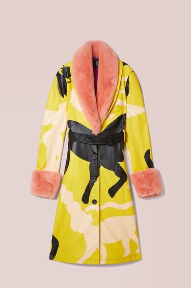 Cappotto cintura fibbia quadrata | Desigual
