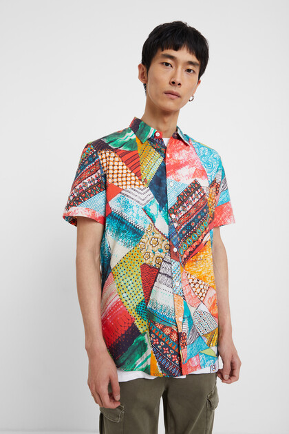 Arty multicolour shirt