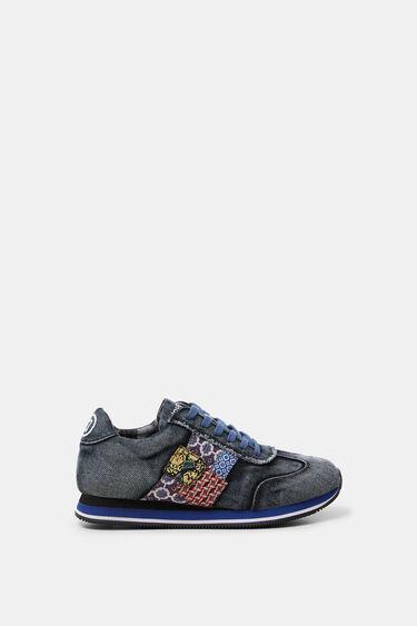 Denim running sneakers | Desigual