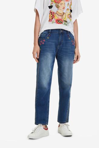 Knöchellange Jeans Mia
