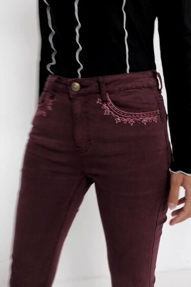 Pantalon jean skinny | Desigual