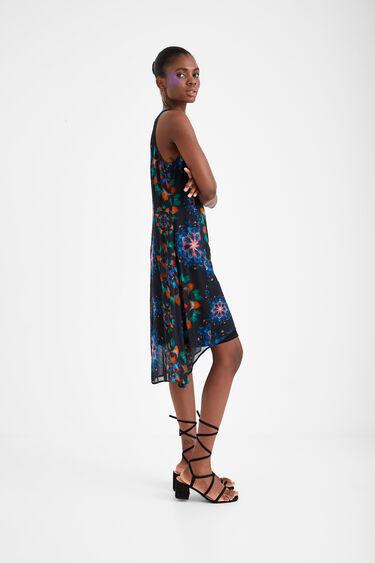 Galactic print dress | Desigual