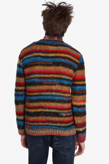 Pull à rayures en tricot | Desigual