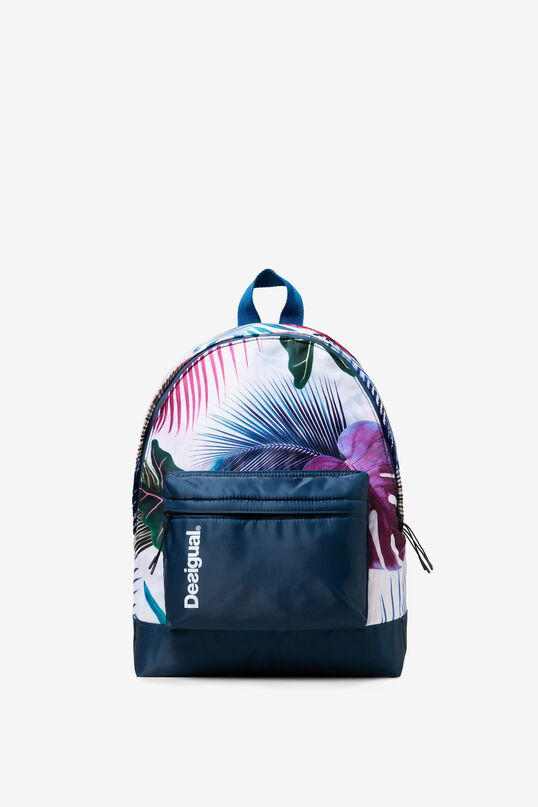 Tropical Print Backpack Bio Patching | Desigual