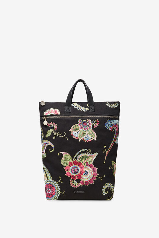 Embroidered backpack   Desigual