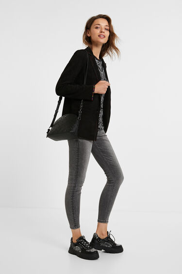 Blazer slim coutures | Desigual