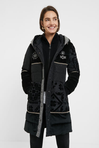 Boho padded coat | Desigual