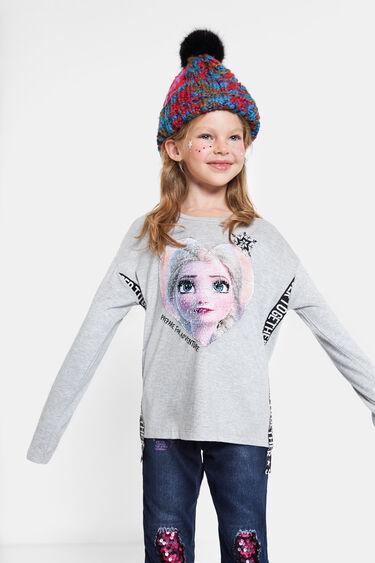 "Camiseta lentejuelas reversibles ""Frozen II"" | Desigual"