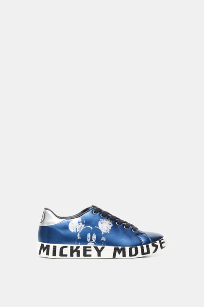 Metallic sneakers Mickey Mouse