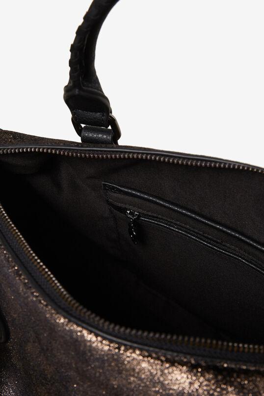 Cylinder bag with fringe | Desigual