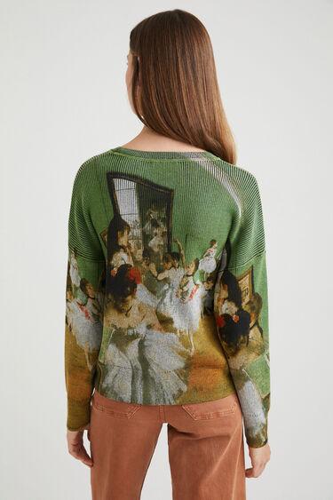 Knit jumper arty | Desigual