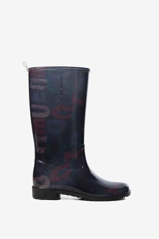 Logomania rain boots