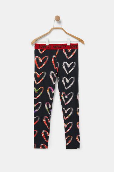 Slim leggings hearts   Desigual