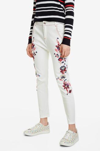 Pantalon à fleurs Larisa