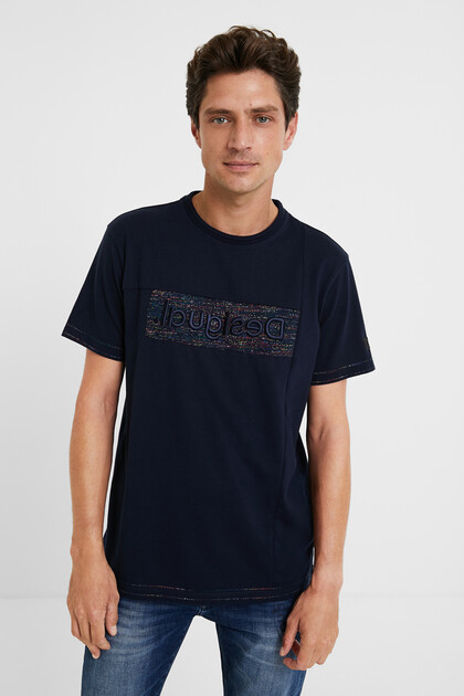 Jacquard T-shirt 100% cotton