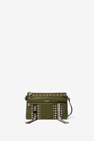 Small stud messenger bag