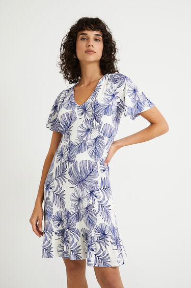 Korte soepelvallende jurk | Desigual