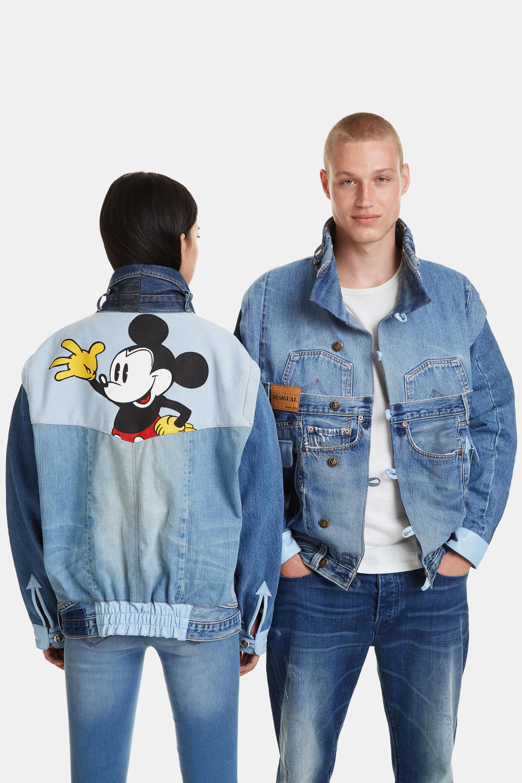 giacca jeans topolino