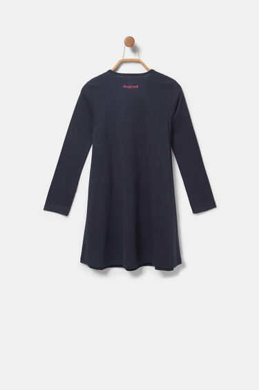 T-Shirt-Kleid mit Stickerei | Desigual
