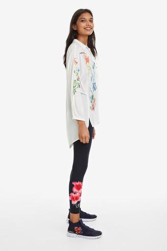Leggings Floral Hibiscus