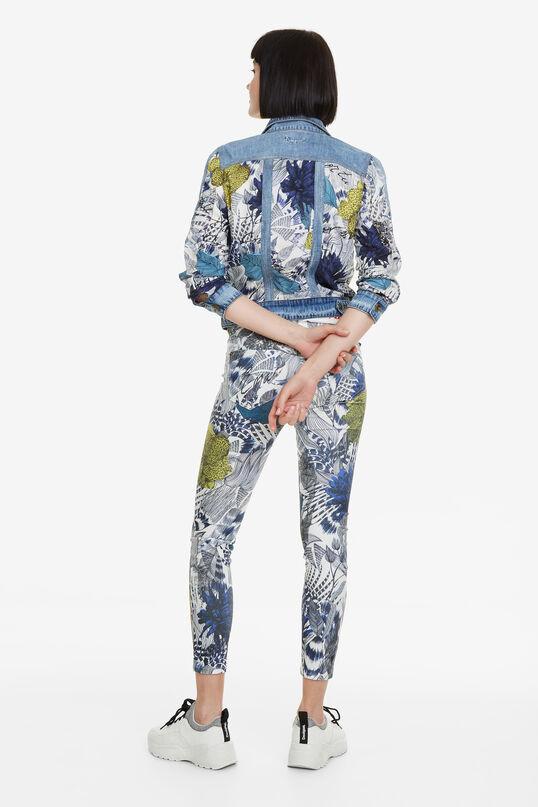 Pantalon 7/8 à print Cosmic | Desigual