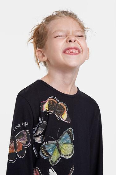Robe t-shirt papillons | Desigual