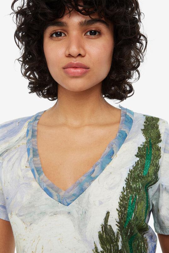 Maglietta pittura naturale Van Gogh | Desigual