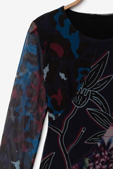 Robe florale effet 3D | Desigual