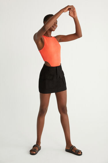Slim bodysuit texture | Desigual