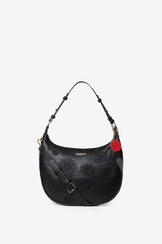 Halbmondförmige Tasche