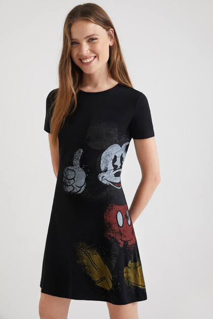 Mickey Mouse T-shirt dress