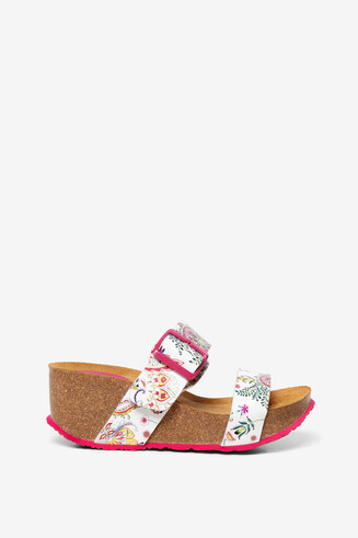 Wedge sandals Bio8 Galactic