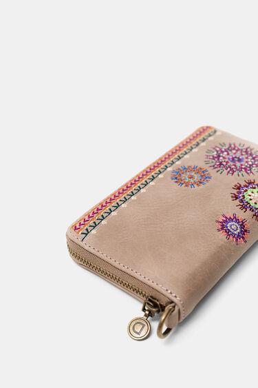 Boho embroidered coin purse | Desigual