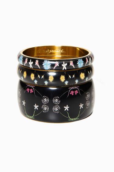 Set di braccialetti Romantic Flowers | Desigual