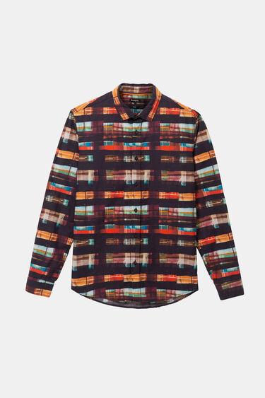 Arty tartan shirt   Desigual