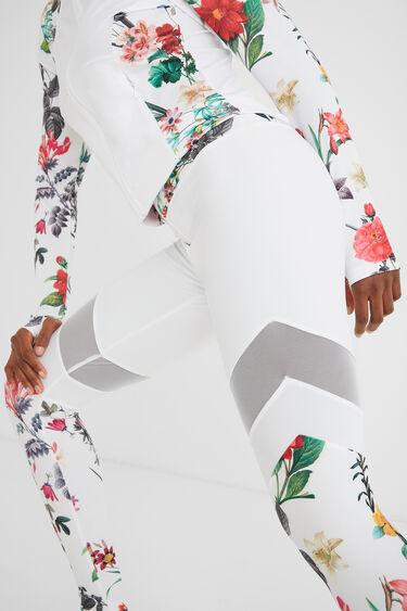 Mesh blocks leggings   Desigual