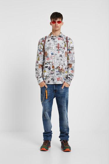 Slim Bolimania shirt | Desigual