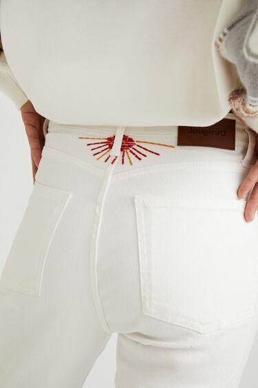 Proste spodnie do kostek | Desigual
