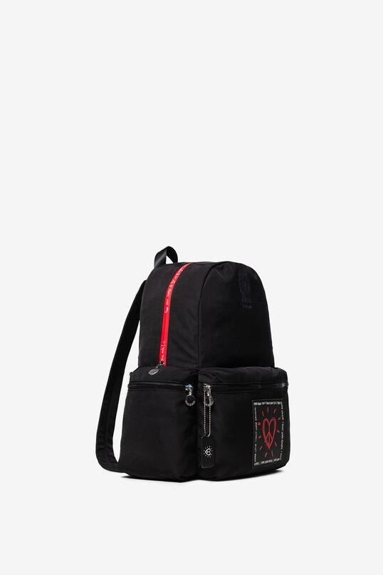 Heart keyring backpack   Desigual